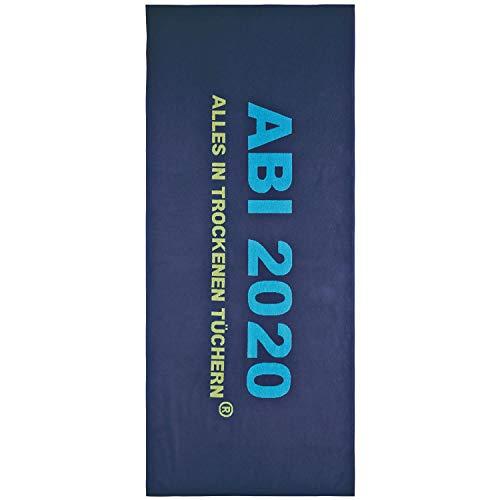Egeria Strandtuch ABI 20 75x180cm Farbe Dunkelblau