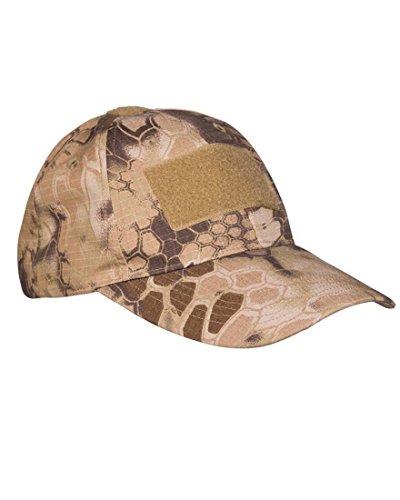 Gorra de béisbol táctica, color mandra tan, tamaño Talla única