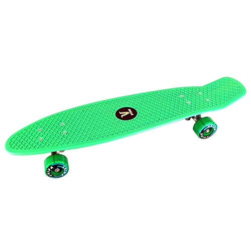 Prokick Fibre Senior Skateboard - Green (27 X 7 Inch)