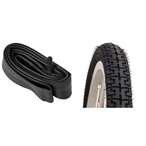 Schwinn 700c Self Sealing Bike Tube (Black, 35-48-mm) and Schwinn 700c X 38mm Comfort/Hybrid Tire...