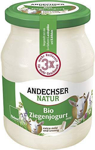 Andechser Natur Bio Bio Ziegenjogurt mild 3,5% (6 x 500 gr)