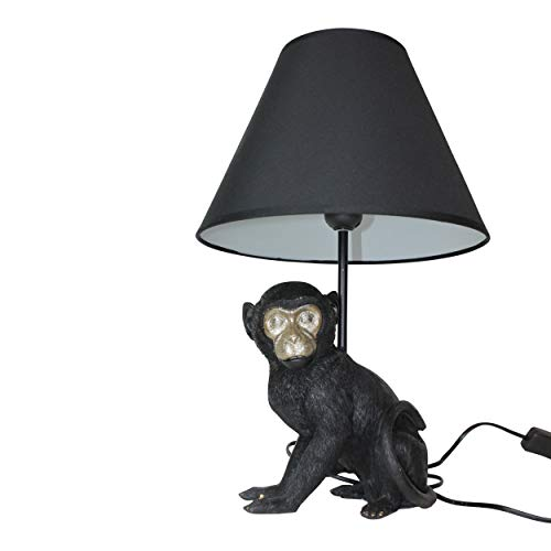 Housevitamin lamp met lampenkap/schemerlamp/bureaulamp - aap