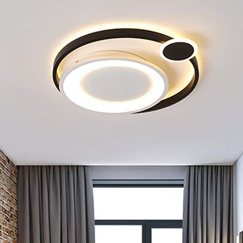Luz de Techo LED Regulable Moderna con Control Remoto, Lá