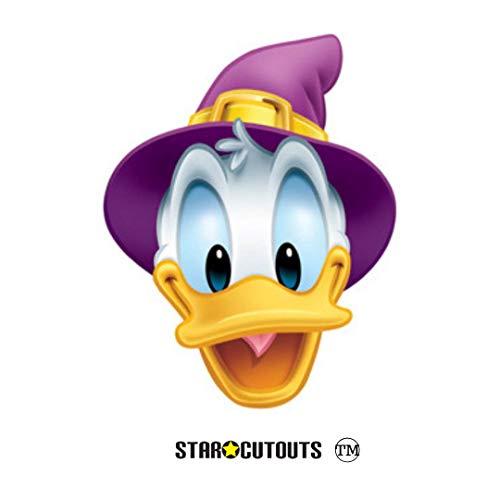 STAR CUTOUTS SM101 Donald Duck Halloween-Maske, perfekt für Partys, schafft lustiges Gesprächsthema, Mehrfarbig