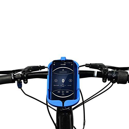 SMINNO® CESAcruise S univerzuller smartphonehouder & handsfree inrichting, fiets, e-bike, scooter, met cockpit app