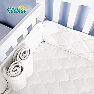 Mini Crib Bumper Pads for Portable Mini Cribs 24
