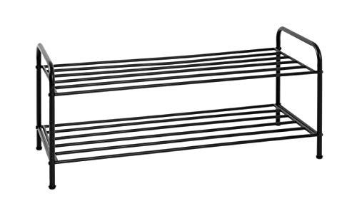 HAKU Möbel Schuhregal, Stahlrohr, 83 x 35 x 37 cm