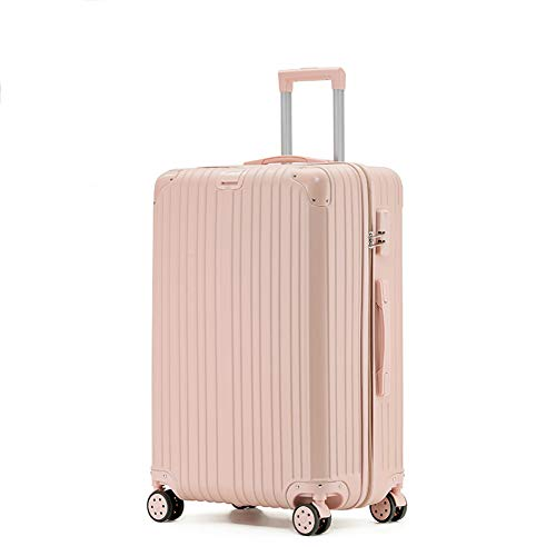 Rechargeable Trolley Luggage Student Travel Luggage Universal Wheel Boarding Suitcase(20'/22'/24'/26') (26',B)