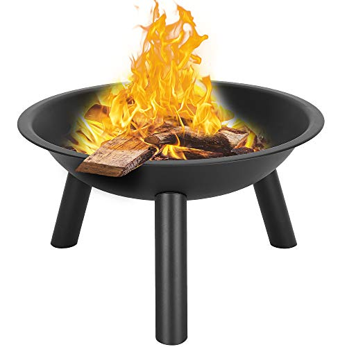 Candora. 22' Iron Fire Pit Bowl Outdoor Patio Heating Stove