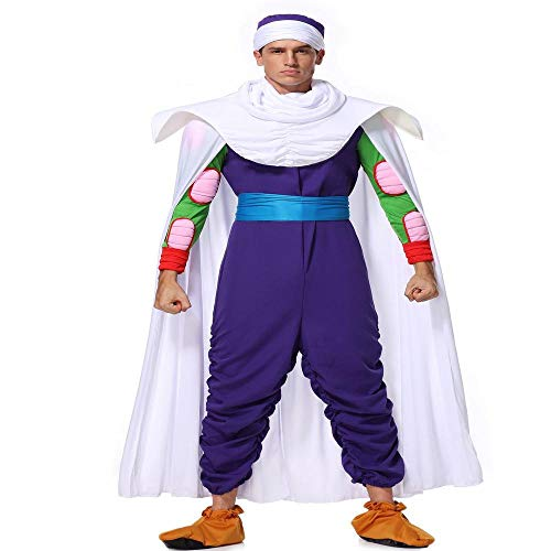 CHANGL Deluxe Anime Dragon Ball Vegeta Cosplay Kostüm Erwachsener Super Saiyajin Kampf Spandex Overalls Halloween Kostüm Für Erwachsene