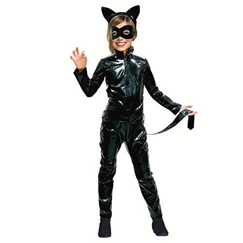 Partilandia Disfraz Cat Girl para niña (2-4 años)
