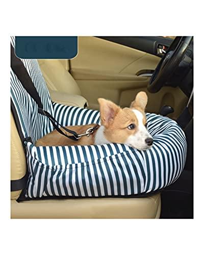 Asientos elevadores para perros Nueva funda de asiento de coche para mascotas Portadores de transporte para mascotas Funda para mascotas Cojín de sofá Seguro al aire libre Viajar en interiores(Color