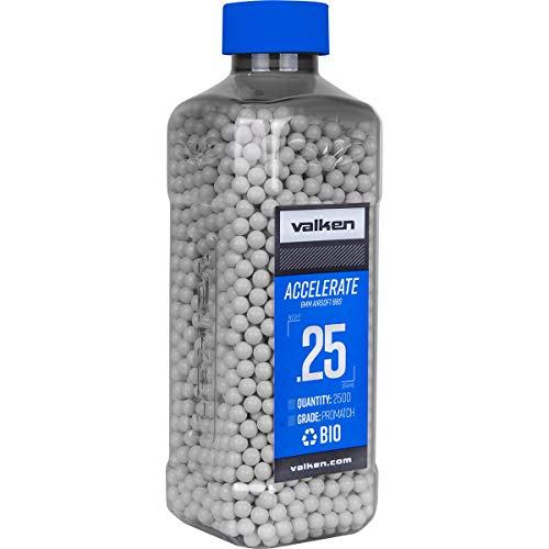 Valken Accelerate Airsoft BBS - 0.25G Bio-2500CT-White