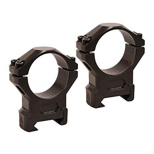 UTG Leapers RSW3154 - Anelli Picatinny in acciaio, profilo medio, larghezza 16 mm, colore: nero, multicolore