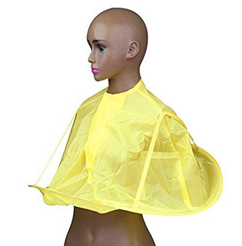 Children Haircut Catcher Apron Cape Hairdresser Barber Haircut Umbrella for Kids (yellow)