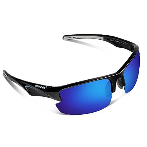 HODGSON Polarisierte Sonnenbrille für Herren und Damen Unisex Sportbrille Treiber Glasses Sport Sonnenbrillen Ultra leicht UV400 Schutz Radbrille für Fahren, Fahrrad, Golf, Wandern