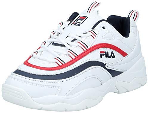FILA Damen Ray Low WMN Sneaker, Weiß (White 1010562-150), 37 EU