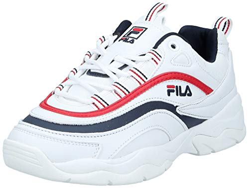 Fila Damen Ray Low WMN Sneaker, Weiß (White 1010562-150), 36 EU