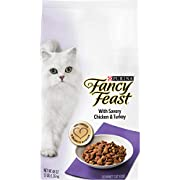 Purina Fancy Feast Dry Cat Food, with Savory Chicken & Turkey - 3 lb. Bag
