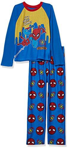 Spiderman Marvel - Pijama de 2 Piezas para niños, Hora Web, 4