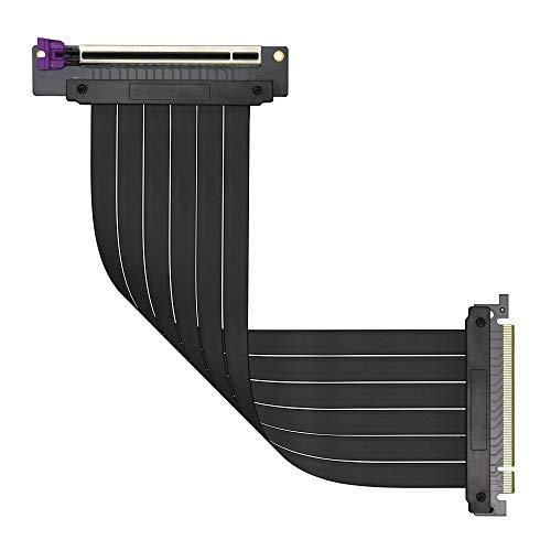 CoolerMaster PCI-e ライザーケーブル (30cm) MasterAccessory Riser Cable PCIe 3.0 x16 Ver.2 MCA-U000C-...