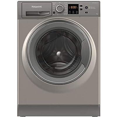 Hotpoint NSWM943CGGUKN 9kg 1400rpm Freestanding Washing Machine - Graphite