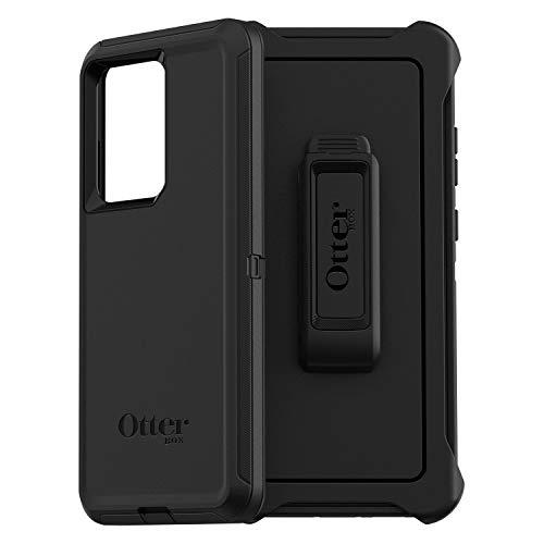 OtterBox Defender Custodia Anti Caduta Proteziona Resistente, per Samsung Galaxy S20 Ultra, Versione Senza Retail Package, Nero