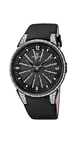 [ペルレ] 腕時計 A2048/1A 正規輸入品 ブラック