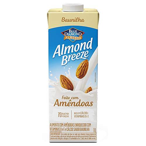 Alimento com Amêndoas Sabor Baunilha Almond Breeze 1L