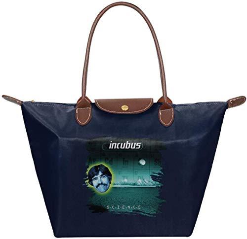 gxianyuyib Incubus S.C.I.E.N.C.E. Umhängetasche Handtasche Handtasche für Frauen | Für Work School Travel Business Einkaufen