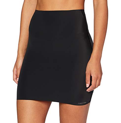 Calvin Klein Half Slip Braguitas Moldeadoras, Black, L para Mujer