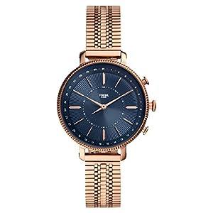 Fossil Reloj híbrido Smartwatch Cameron Caja y Correa en Acero Inoxidable