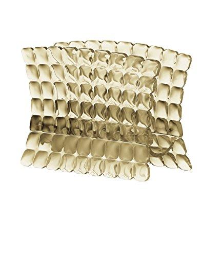 Guzzini Tiffany Portatovaglioli, 100% Plastica, Beige (Sand), 15.2 x 7.6 x h11 cm