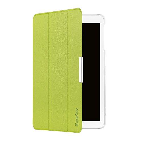 EasyAcc Hülle für Samsung Galaxy Tab E 9.6 T560N/T561N - Ultra Schlank PU Leder Cover Superleicht mit Standfunktion Kompatibel für Samsung Galaxy Tab E T560N/T561N 24,3 cm (9,6 Zoll) Tablet (Grün)