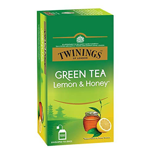 Twinings Green Tea Lemon & Honey, 100 Teabags, Green Tea,...