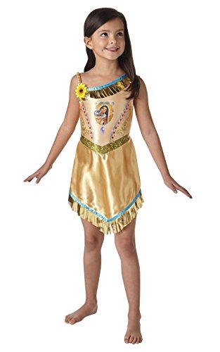 Rubie 's Offizielles Pocahontas Mädchen Fancy Kleid Disney Princess Fairytale Buch Kostüm für Kinder