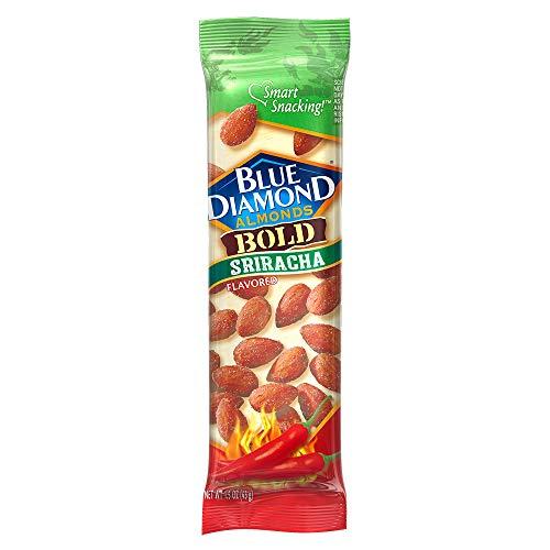 Blue Diamond Almonds, Bold Sriracha, 1.5 Ounce (Pack of 12)