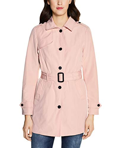 Street One Damen 201450 Trenchcoat, Misty Rose, 36