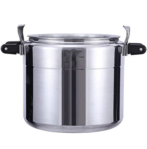 Cocina de presión de aluminio comercial engrosada de gran capacidad Presión de...