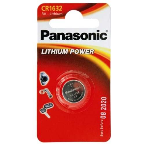 Power batterie lithium 3 v de type panasonic 1632 cR1632 original 1-blister dDM au moins jusqu \