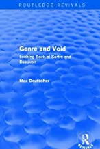 Revival: Genre and Void (2003): Looking Back at Sartre and Beauvoir (Routledge Revivals)