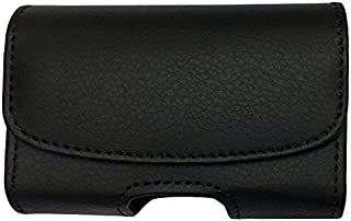 Classic Premium Pouch Case with Belt Clip FOR Dexcom Seven Plus CGM -SNK Retail packaging (H1/BLACK)