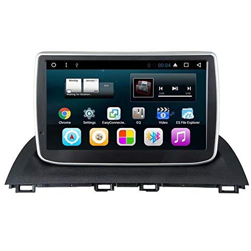 TOPNAVI Quad Core Android 7.1 Unité Centrale de Voiture pour Mazda3 Axela 2014 2015 2016 Radio de Voiture GPS Navigation avec 1 Go de RAM 16 Go ROM WiFi 3G RDS Lien Miroir FM AM Bluetooth Audio Vidéo