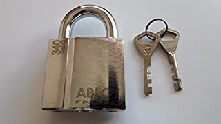 Abloy PL340 / 25 C/High Security Steel Padlock /With 2 keys