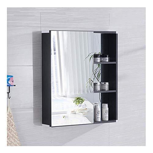 ZHANG HUA-tafellamp Z-H badkamerspiegel van aluminium met spiegelkast en handdoekhouder