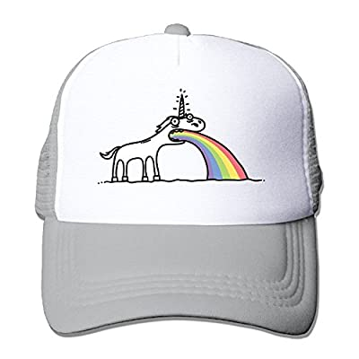 Waldeal Adult Unisex Rainbow Unicorn Baseball Caps Visor Hat for Outdoor Sports