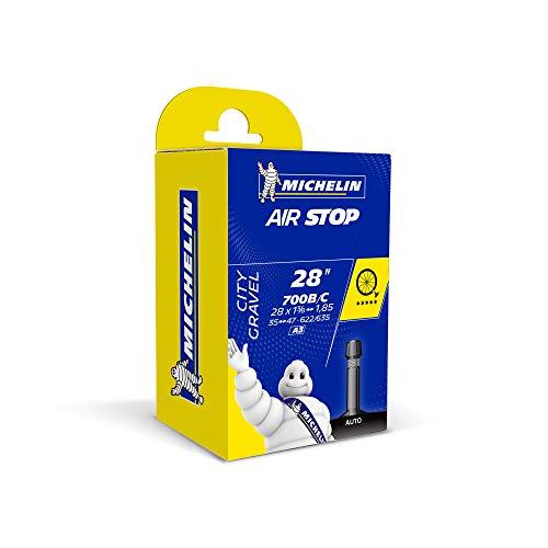 Michelin Camera d'aria A3 AIRSTOP, Nero (schwarz), 700x35/47c sv