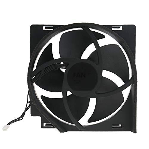 Ventilador principal interno para ventilador de CPU de repuesto, conector de 4 pines 12 V CC 12,5 x 12,5 cm