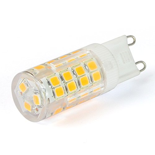 HIVE 4 W G9 LED bombilla - blanco frío - 370 lm muy brillante - equivalente a 40 W