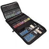 72 lápices de colores Conjunto de Suministros de bocetos para colorear Libros de escuela para disfrutar de herramientas profesionales adultos artista domésticos Industrial